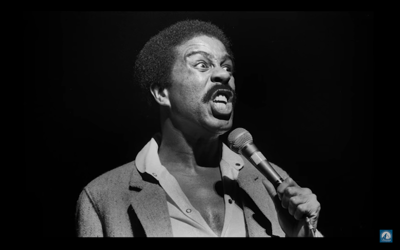 Comedian Richard Pryor was listed as No. 1 in Comedy Central' list of all time greatest stand-up comedians. (I am Richard Pryor)