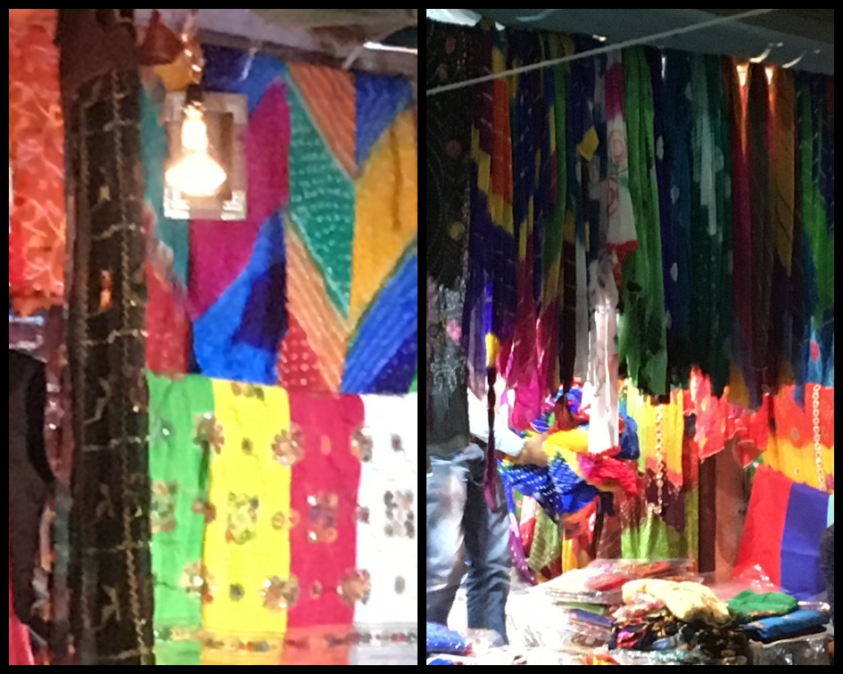 The traditional tie and dye fabric, which is used to make all kinds of dress materials like suit pieces, sarees, dupattas, and turbans, are a must-have for any tourist stepping foot in Rajasthan. (Meaww Photos)
