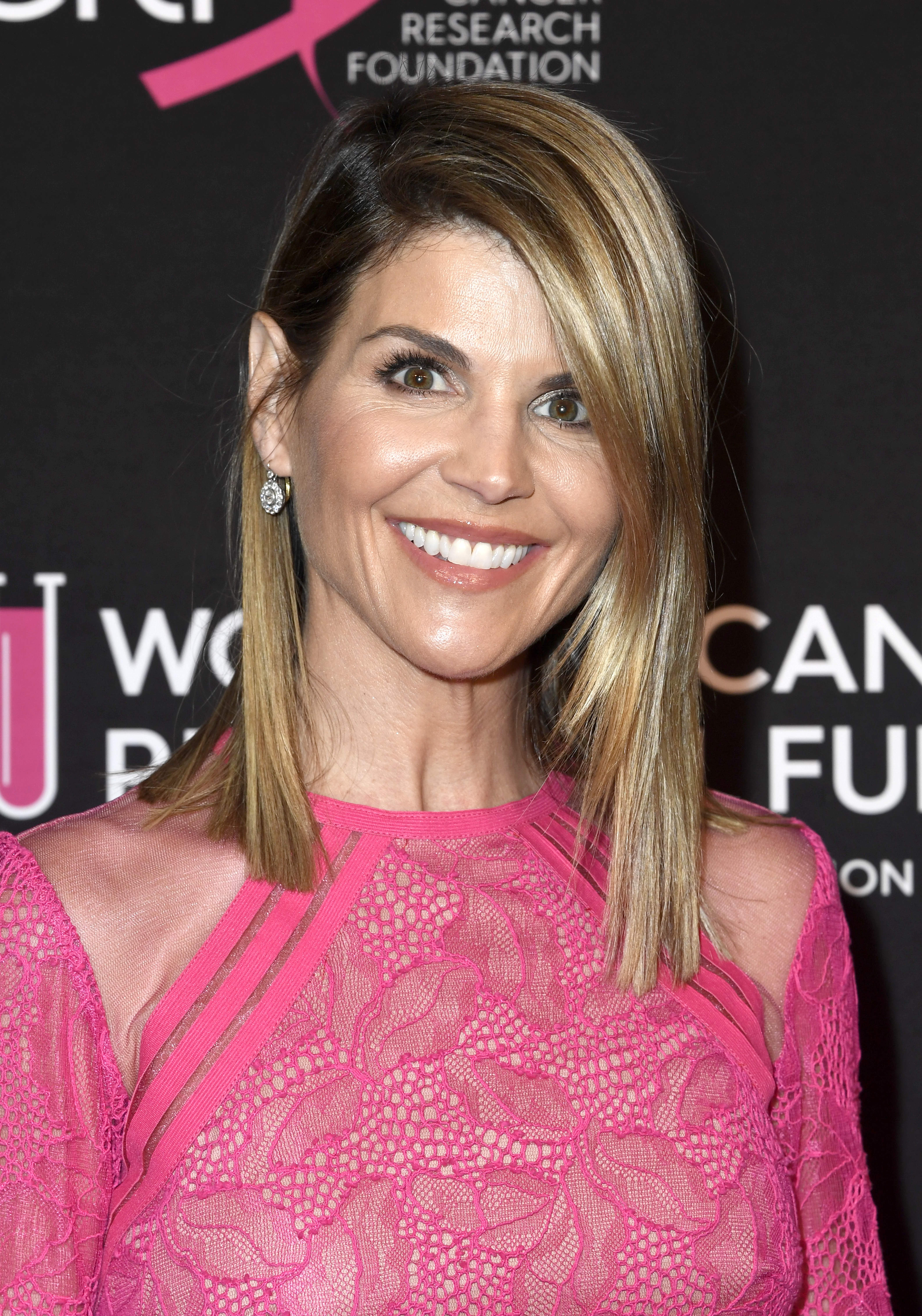 Lori Loughlin attends The Women's Cancer Research Fund's An Unforgettable Evening Benefit Gala at the Beverly Wilshire Four Seasons Hotel on February 28, 2019 in Beverly Hills, California. (Getty)
