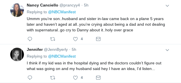Fans are of the opinion that Grace is not being supportive enough of her husband. (Twitter)