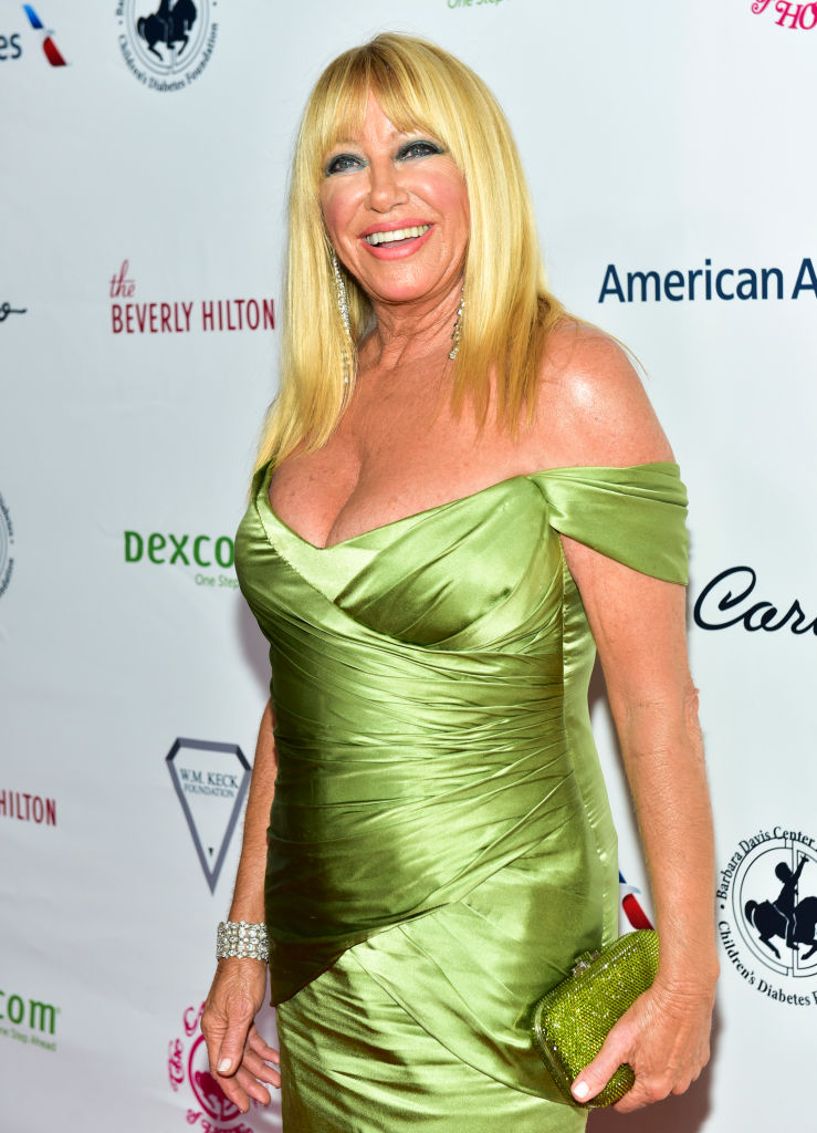 Suzanne Somers attends the 2018 Carousel of Hope Ball at The Beverly Hilton Hotel on October 6, 2018 in Beverly Hills, California. (Photo by Rodin Eckenroth/Getty Images)