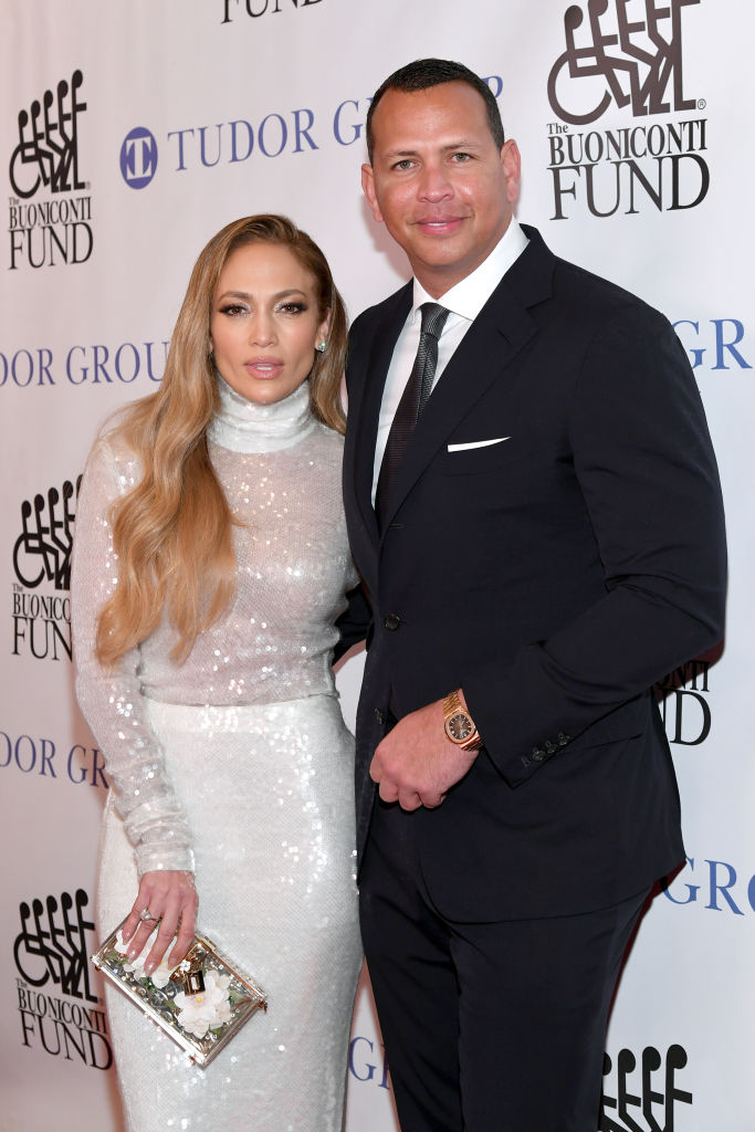 Jennifer Lopez and Alex Rodriguez announced their engagement over the weekend (Source: Getty Images)