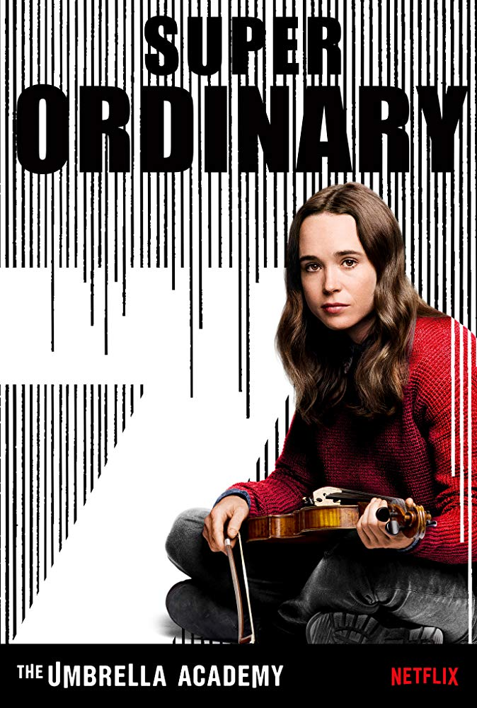 'The Umbrella Academy', Ellen Page as The White Violin (Image Courtesy: IMDB)
