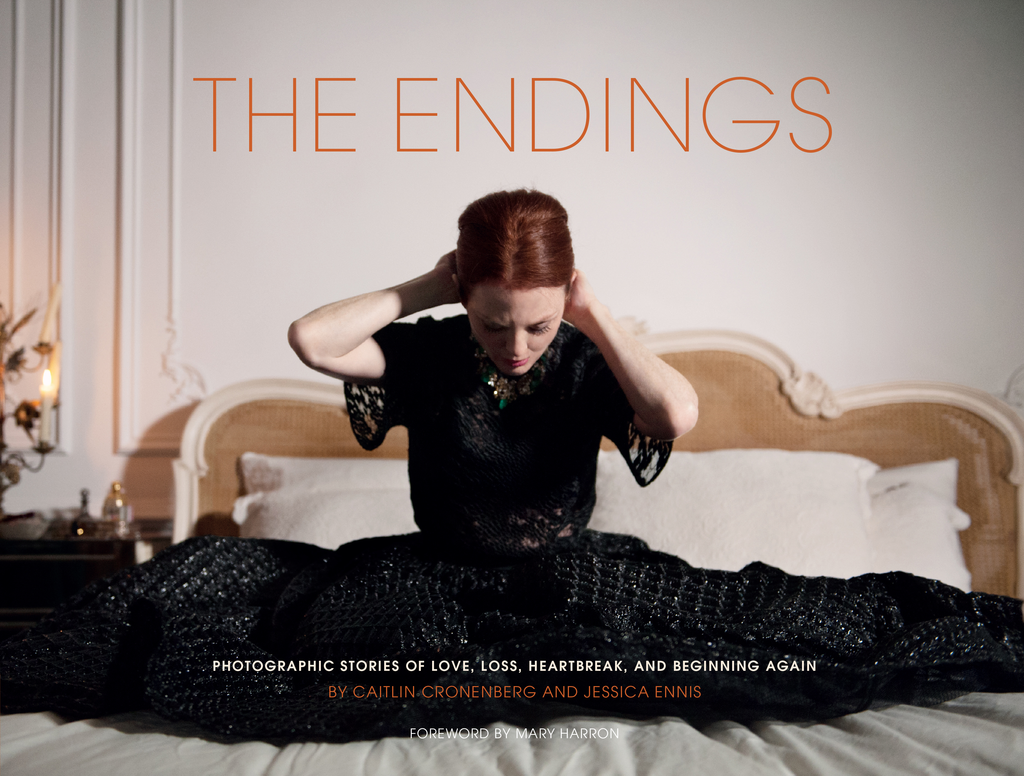 Julianne Moore in the cover page for 'Photographic Stories of Love, Loss, Heartbreak, And Beginning Again'