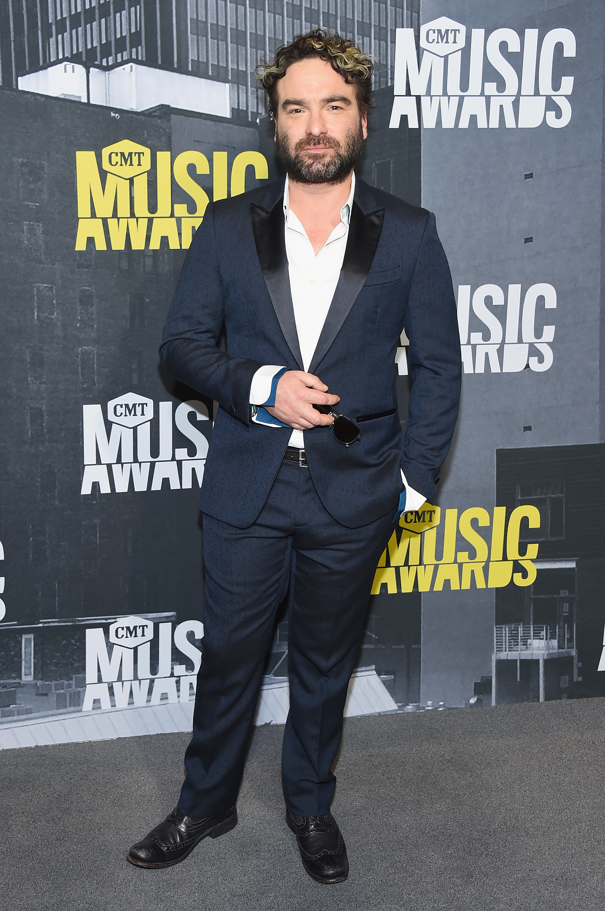 Actor Johnny Galecki attends the 2017 CMT Music Awards at the Music City Center on June 7, 2017 in Nashville, Tennessee.
