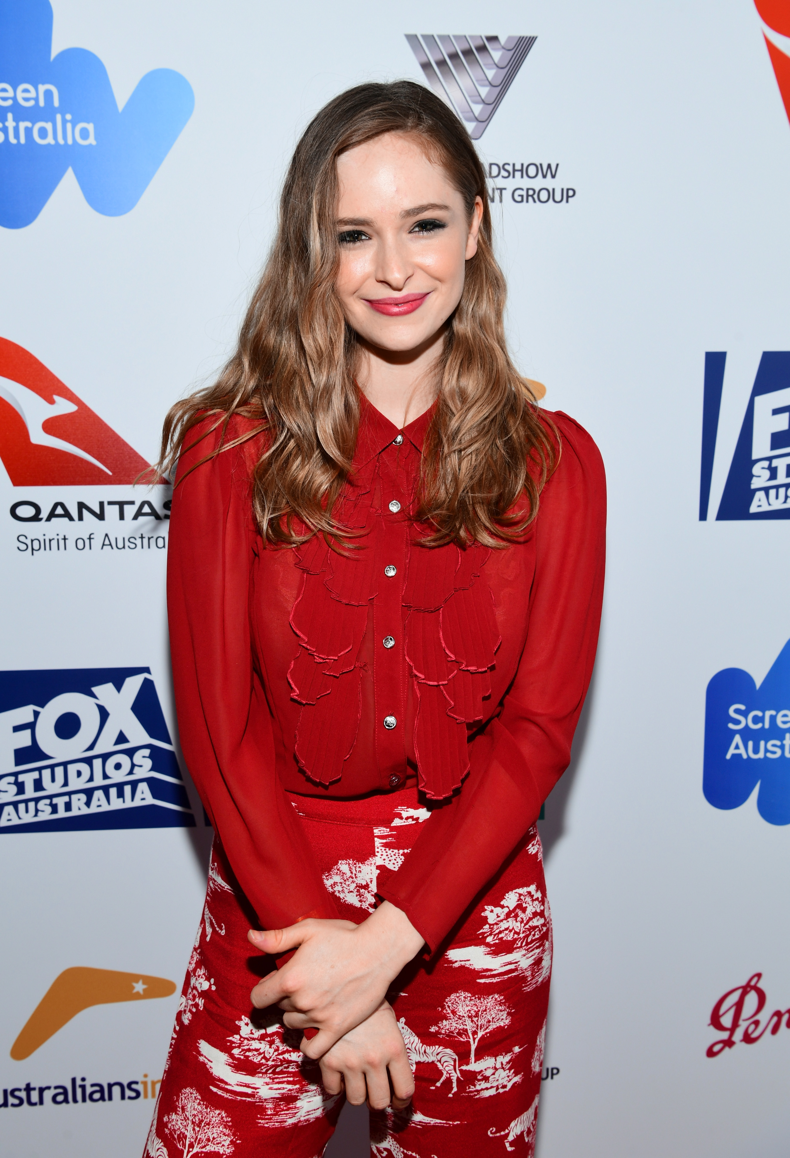 Ashleigh Cummings attends the 6th Annual Australians in Film Award & Benefit Dinner at NeueHouse Hollywood on October 18, 2017, in Los Angeles, California (Getty Images)