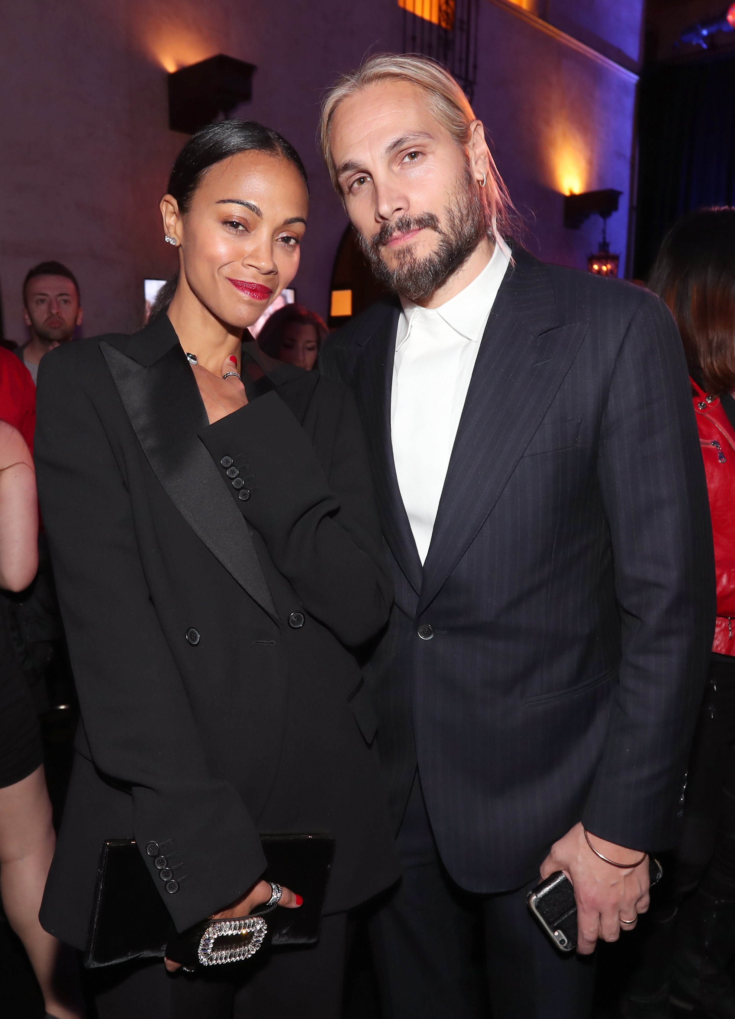 Zoe Saldana and husband Marco Perego want their sons to ...