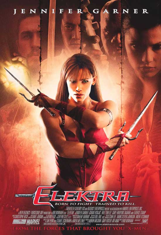 Jennifer Garner in 'Elektra' (Marvel Wikia)