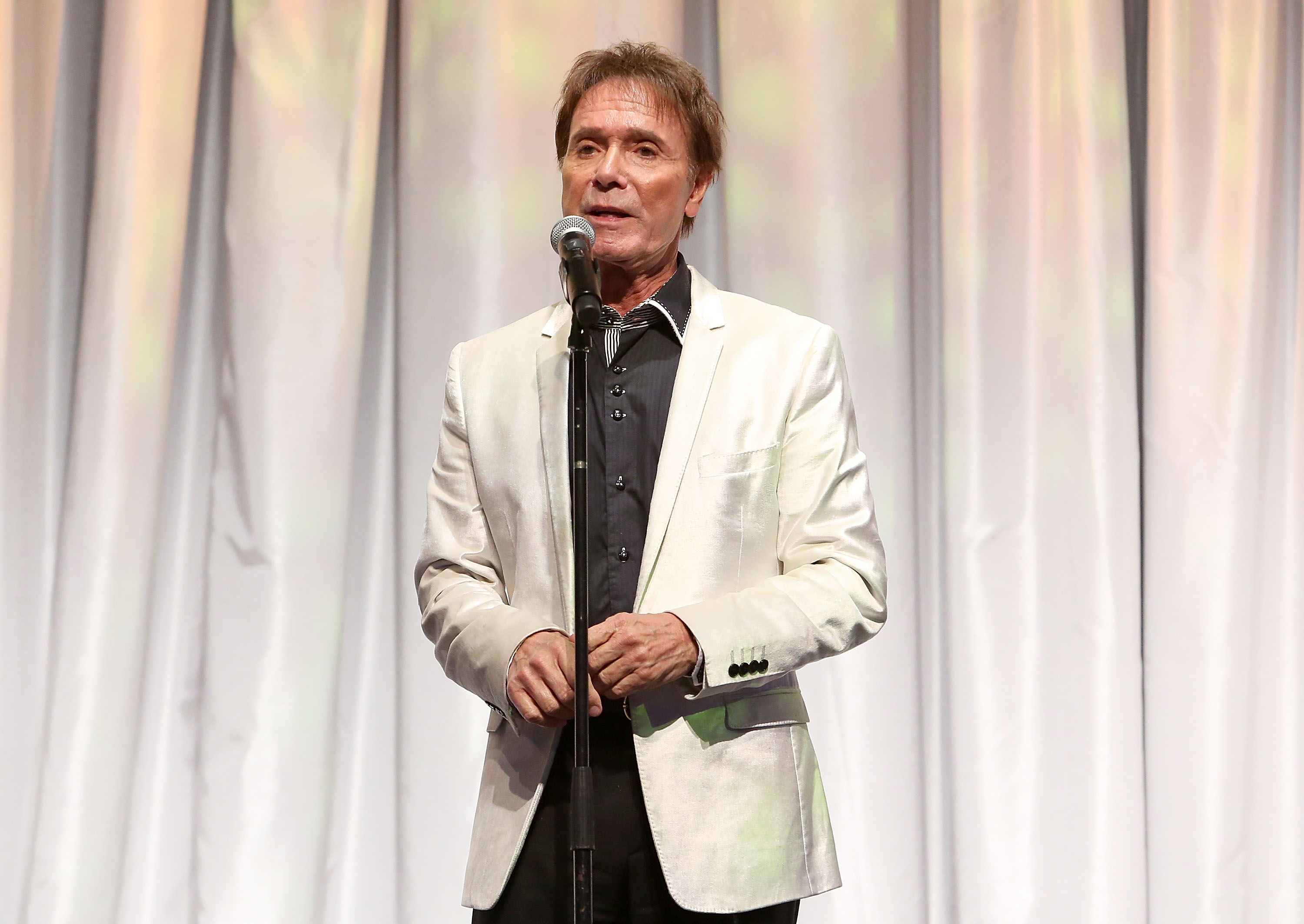 Singer Cliff Richard performs during the Dream Foundation's 2017 Dreamland Gala at The Ritz-Carlton Bacara on November 18, 2017 in Goleta, California. (Photo by Jesse Grant/Getty Images for Dream Foundation)