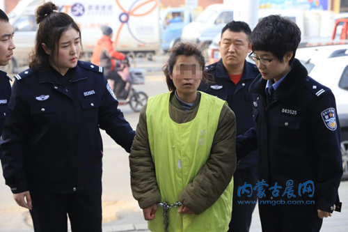 29-year-old Gao suffocated her daughter to death for playing on her cell phone all day. (Inner Mongolia Morning Post)