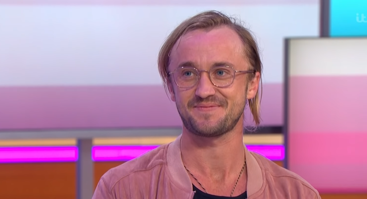 Felton looked drastically different from his Harry Potter days (Source: YouTube/Good Morning Britain)