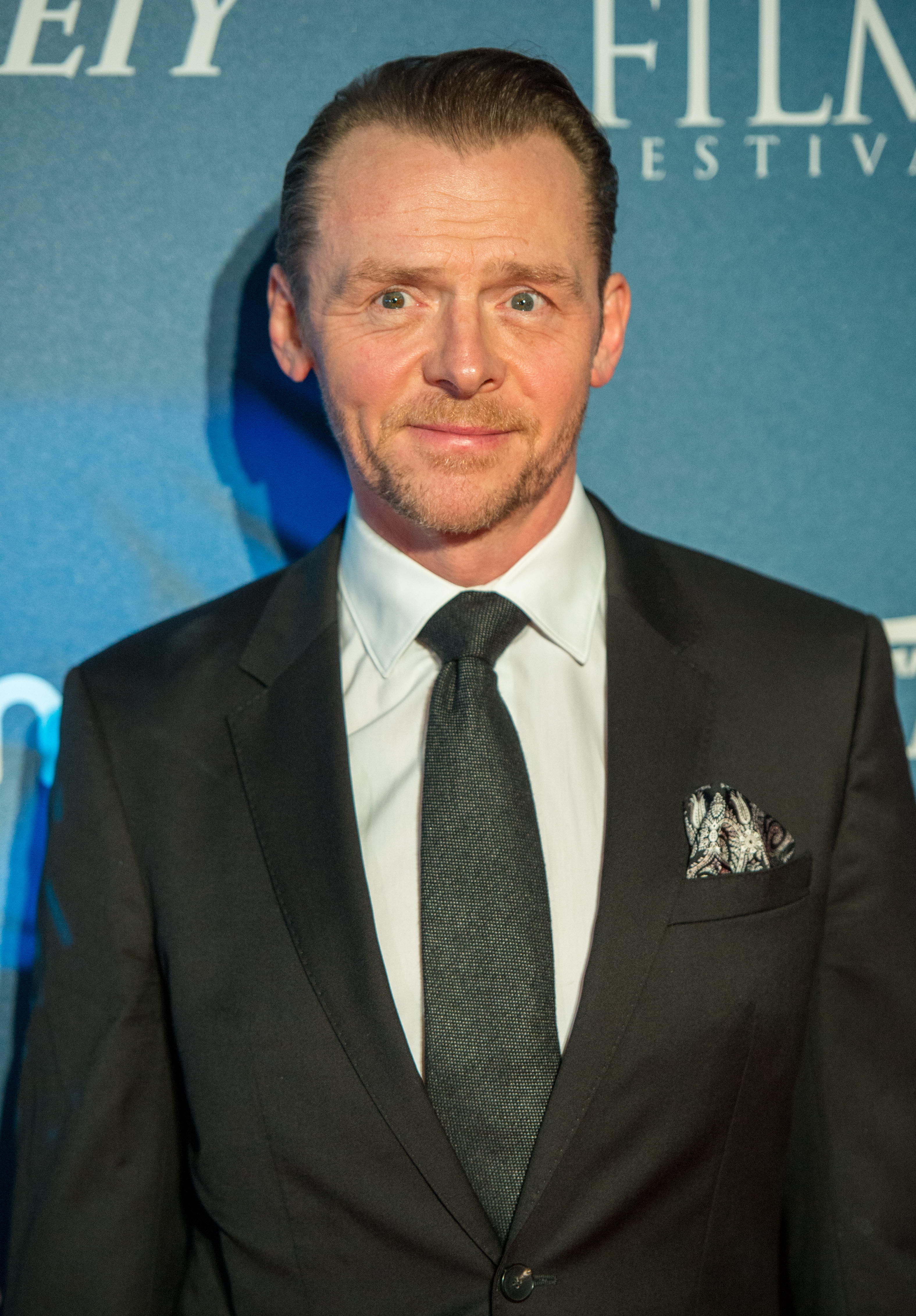 Simon Pegg attends the 'Newport Beach Film Festival' annual UK honours at The Rosewood Hotel on February 15, 2018 in London, England.