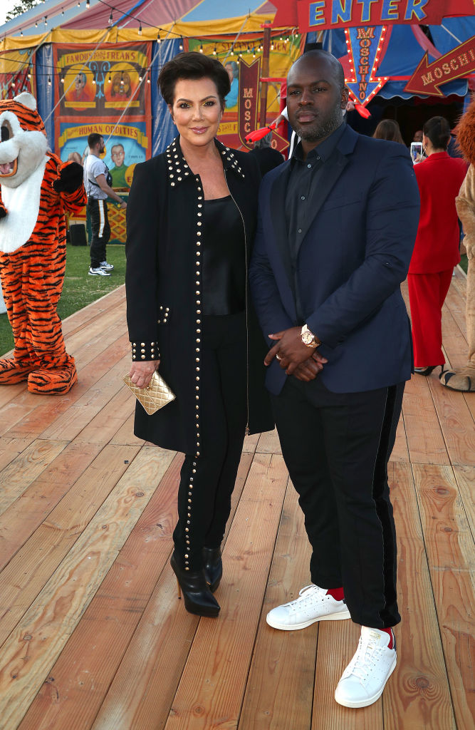 Kris Jenner and Corey spark engagement rumors (Photo by Frederick M. Brown/Getty Images)