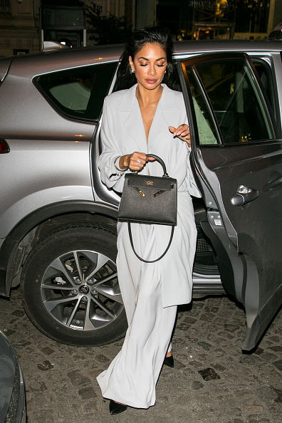 Singer Nicole Scherzinger is seen on March 3, 2018 in Paris, France. (Photo by Marc Piasecki/GC Images)