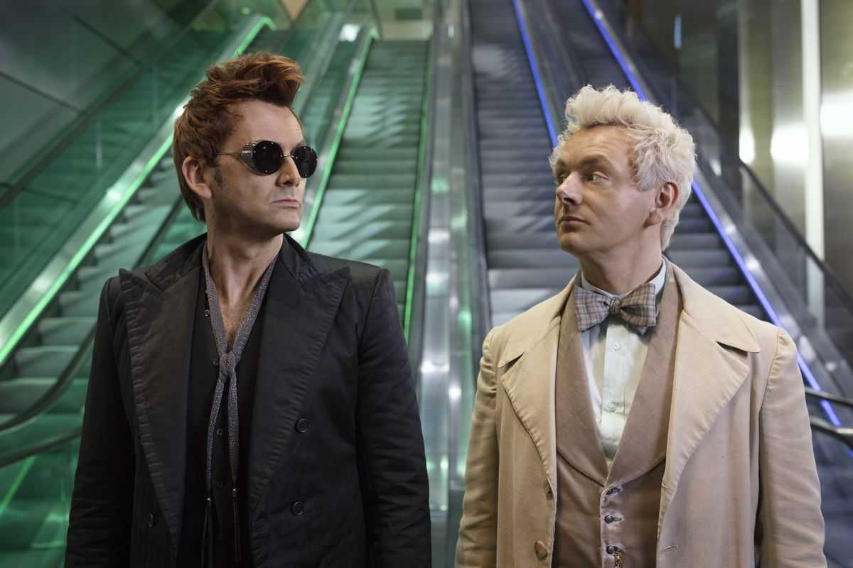 Tennant will also star alongside Michael Sheen in the BBC2 series, 'Good Omens'. (IMDb)