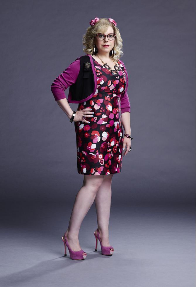 Kirsten Vangsness as Penelope Garcia, the tech genius in the BAU. (WikiFandom)