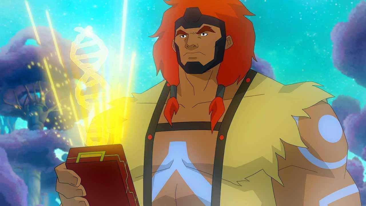 The New God, Big Bear in 'Young Justice'. (Source: IMDB)