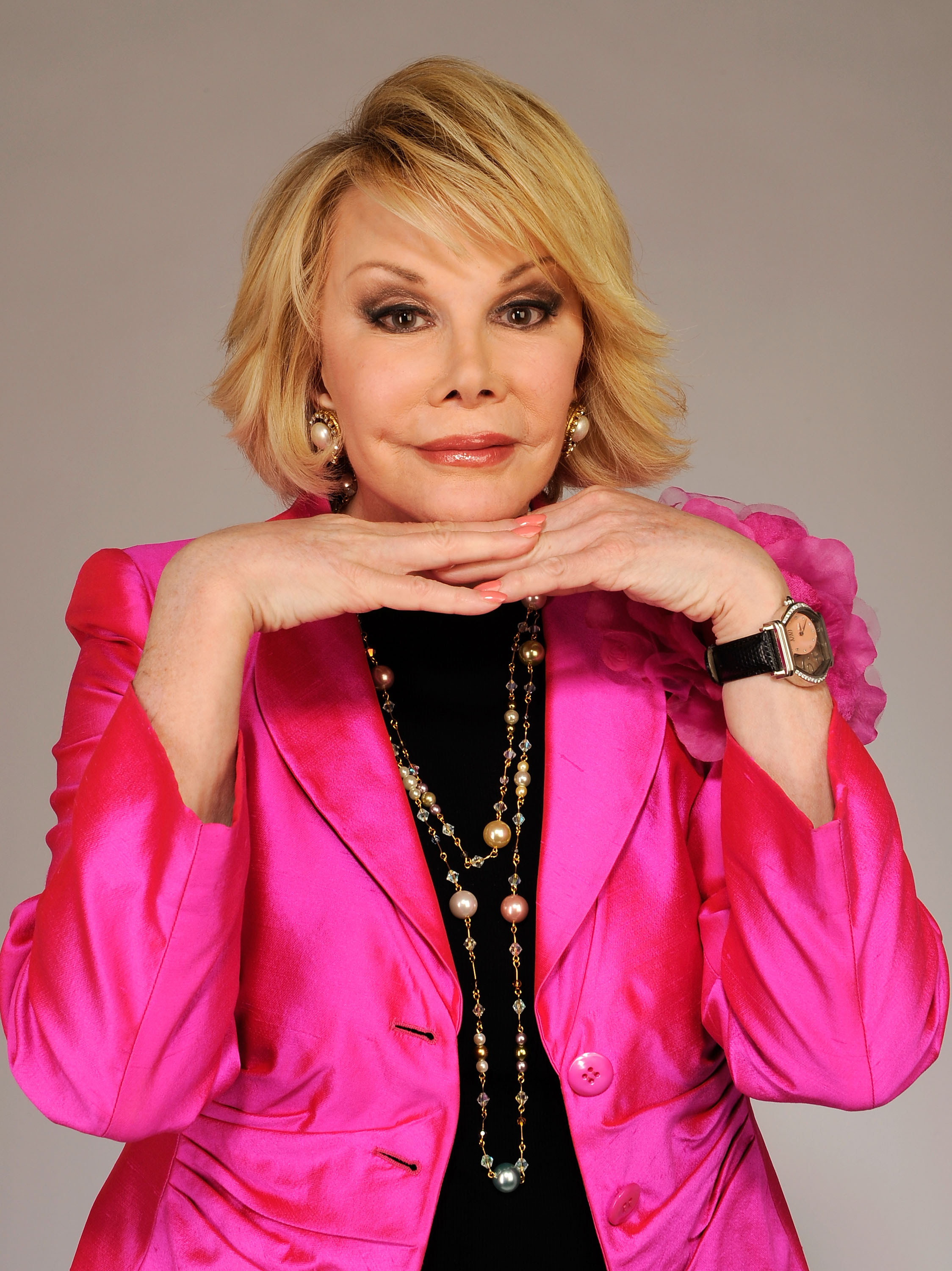 Joan Rivers from the film 'Joan Rivers - A Piece of Work' attends the Tribeca Film Festival 2010 portrait studio at the FilmMaker Industry Press Center on April 27, 2010 in New York, New York.