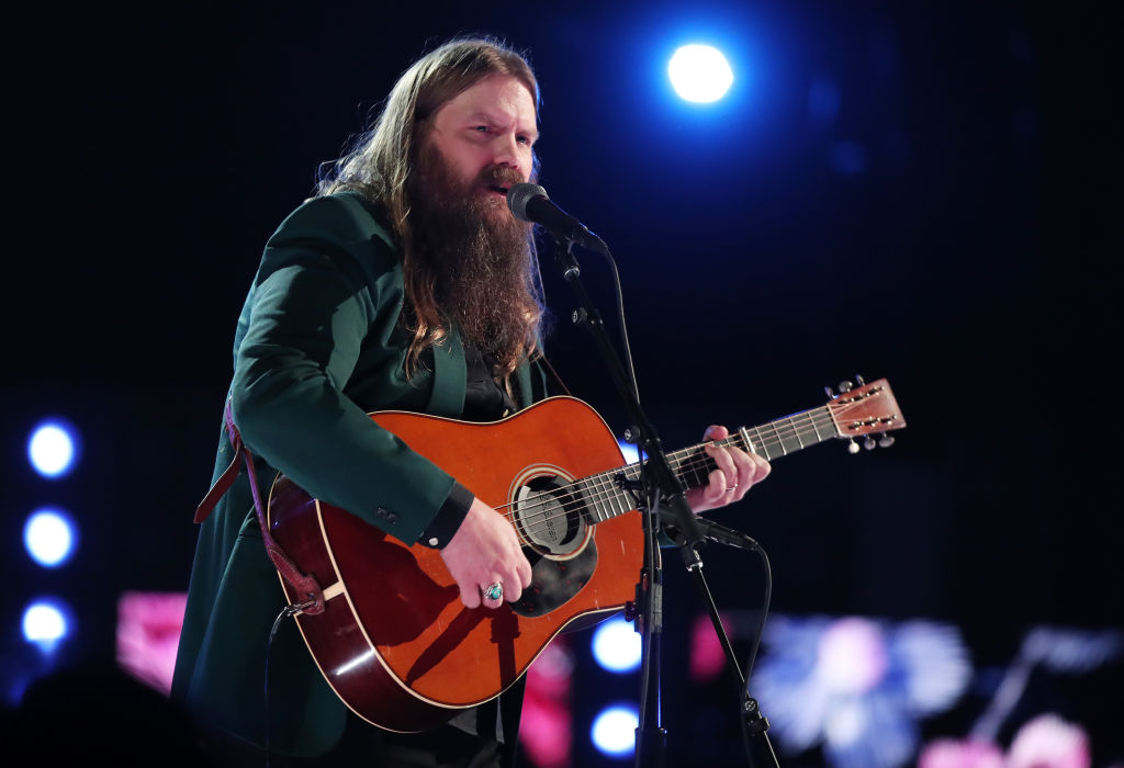 Recording artiste Chris Stapleton performs onstage during the 60th Annual GRAMMY Awards at Madison Square Garden on January 28, 2018, in New York City. (Getty Images)