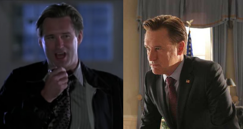Pullman as President in 'Independence Day' and '1600 Penn'. (IMDb)