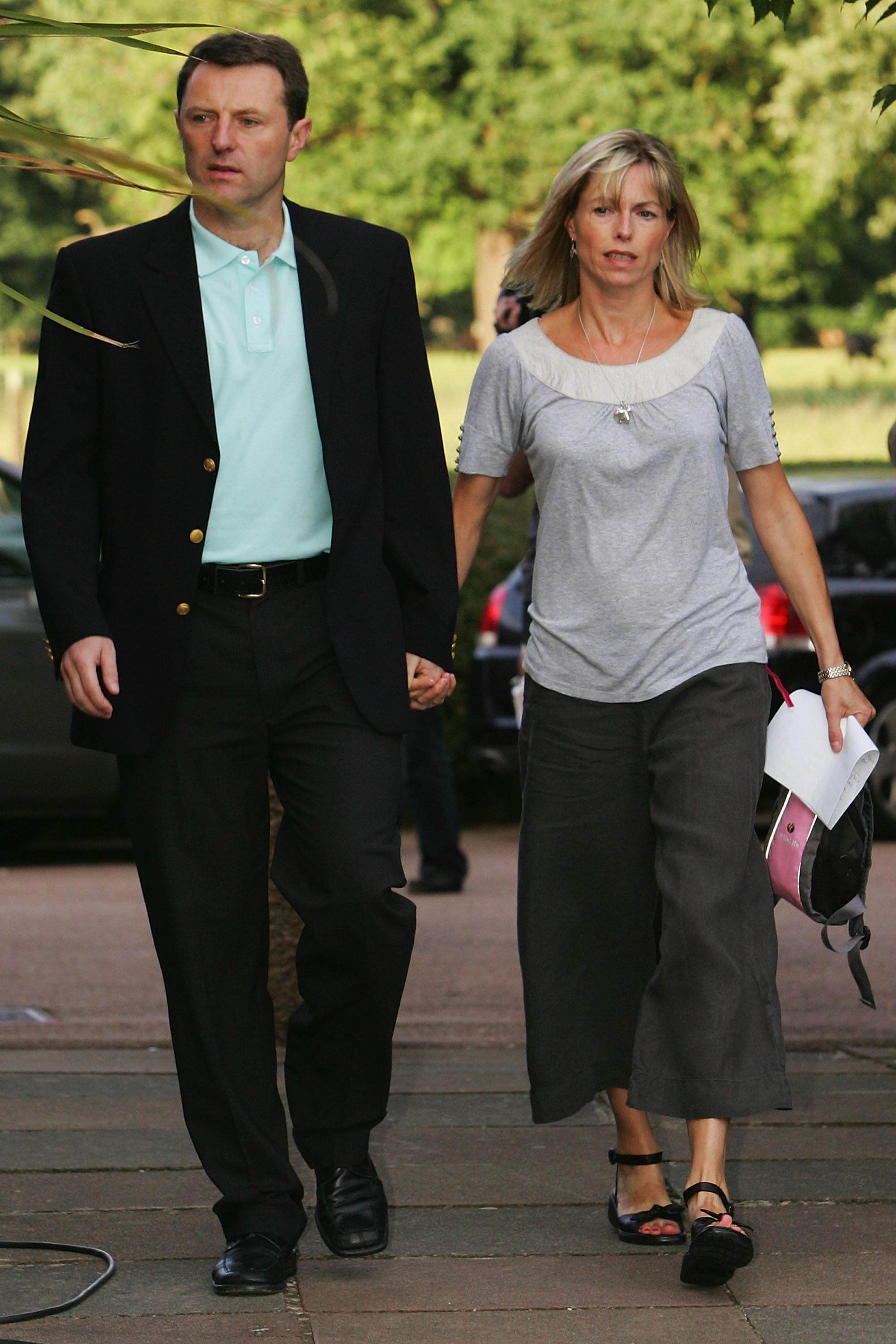 Kate and Gerry were cleared of their suspect status in mid-2008 (Source: Matthew Lewis/Getty Images)