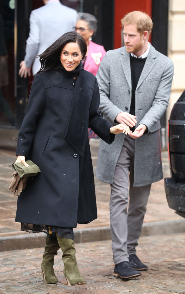 It was previously reported that Meghan's personal assistant, Melissa Touabti, quit her job just six months into the role.  (Source: Getty Images)