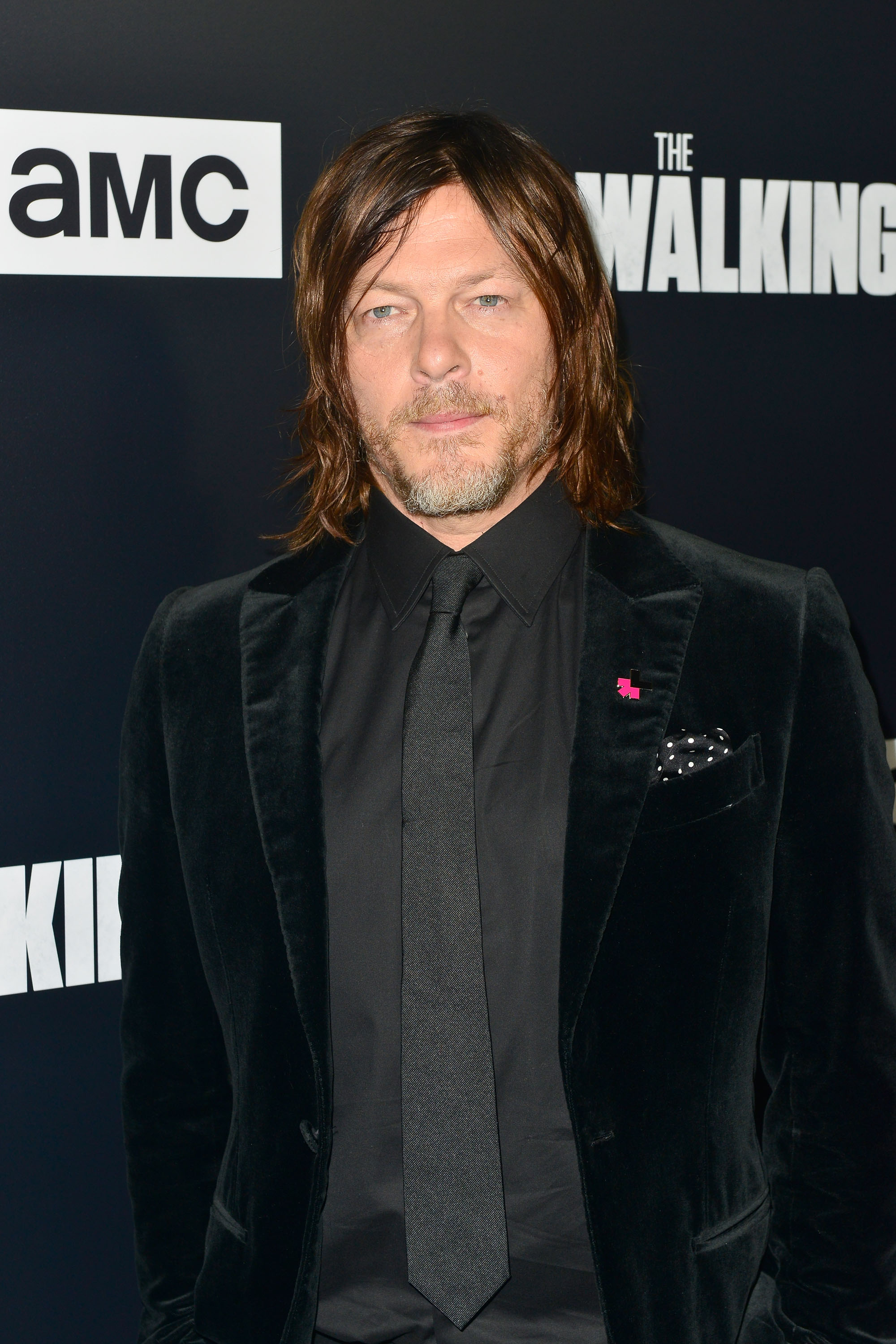 Norman Reedus arrives at the Premiere Of AMC's 'The Walking Dead' Season 9 at the DGA Theater on September 27, 2018 in Los Angeles, California.