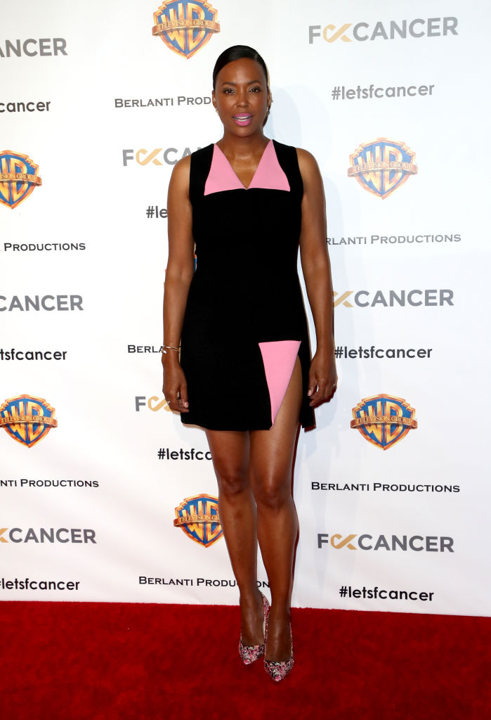 Aisha Tyler attends F Cancer's 1st Annual Barbara Berlanti Heroes Gala at Warner Bros. Studios on October 13, 2018 in Burbank, California. (Photo by David Livingston/Getty Images)