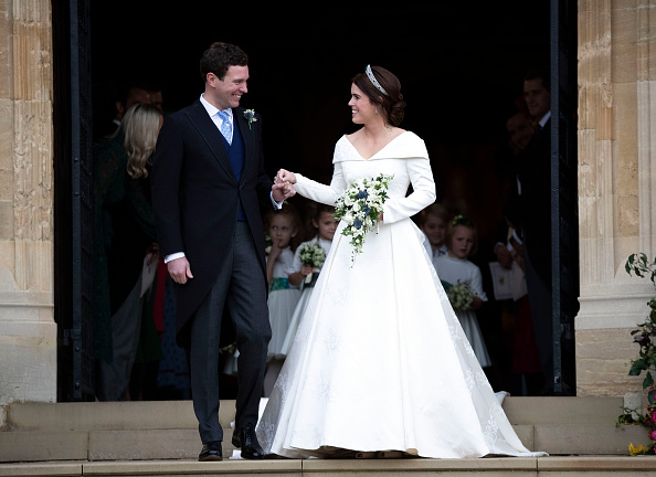Jack Brooksbank and Princess Eugenie (Source: Getty Images)