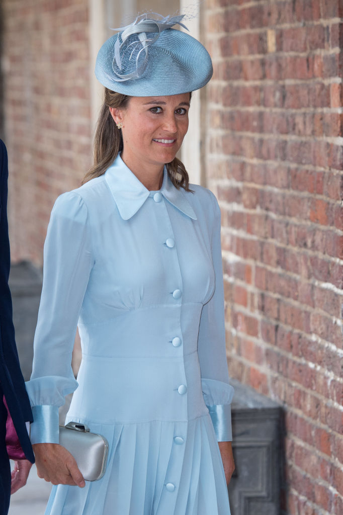 Pippa Middleton, the sister of Britain's Catherine, Duchess of Cambridge, attends the christening of Prince Louis at the Chapel Royal, St James's Palace on July 09, 2018 in London, England. (Photo by Dominic Lipinski - WPA Pool/Getty Images)