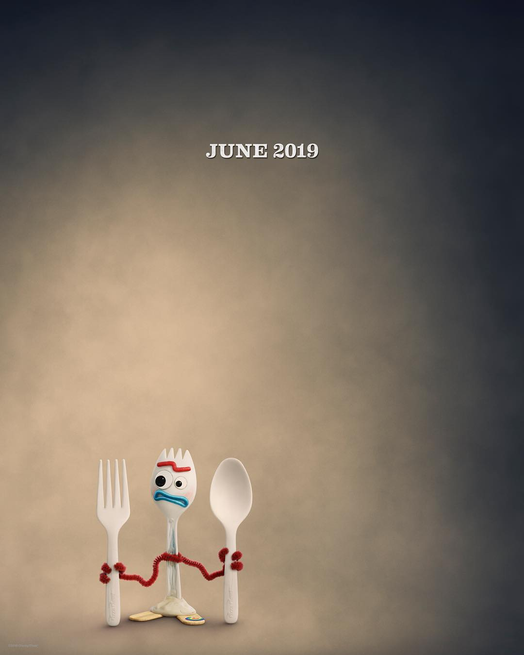Forky is a toy that Bonnie made our of a fork, but he has no interest in being a toy. (Instagram)