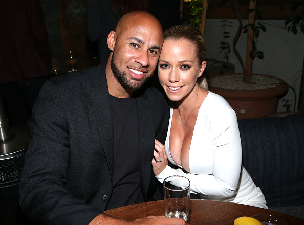 Kendra had broken up with Hank, mentally when he cheated on her. (Getty Images)