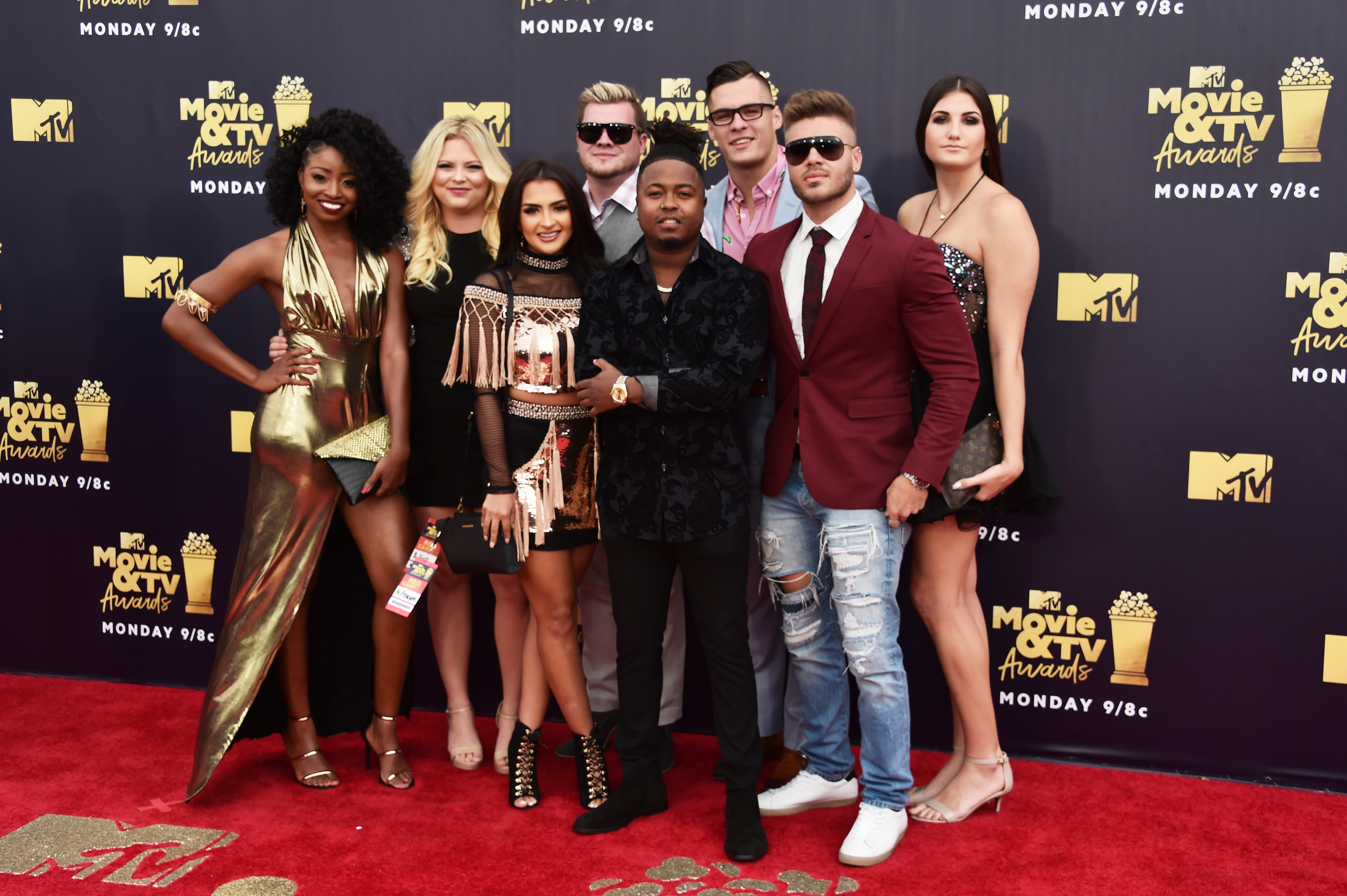 'Floribama Shore' cast members (Source: Getty Images)