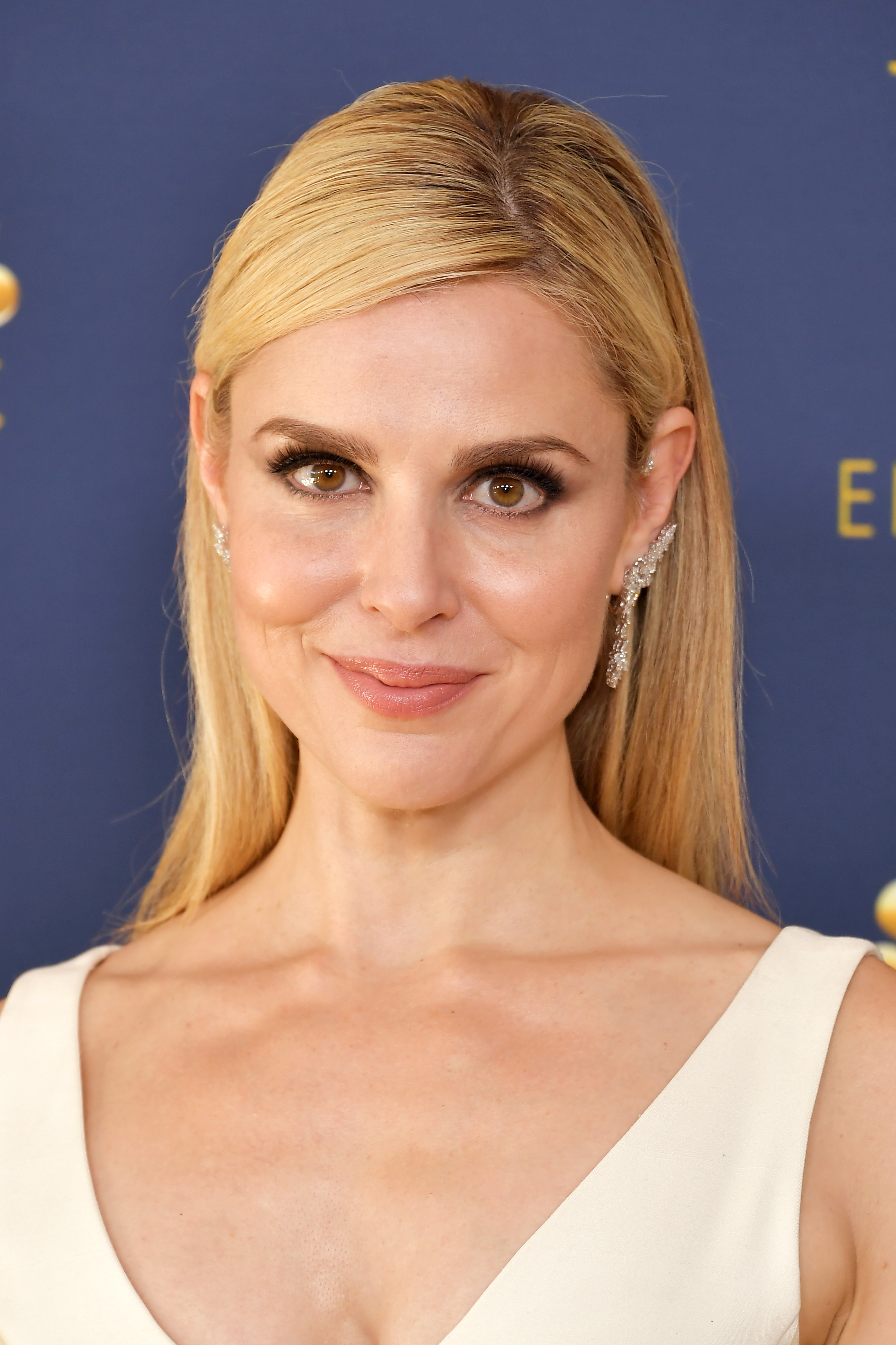 Cara Buono attends the 70th Emmy Awards at Microsoft Theater on September 17, 2018 in Los Angeles, California.