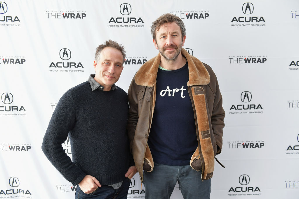 Director Jesse Peretz and actor Chris O'Dowd of 'Juliet, Naked' attend the Acura Studio at Sundance Film Festival 2018 on January 20, 2018 in Park City, Utah. (Photo by Neilson Barnard/Getty Images for Acura)