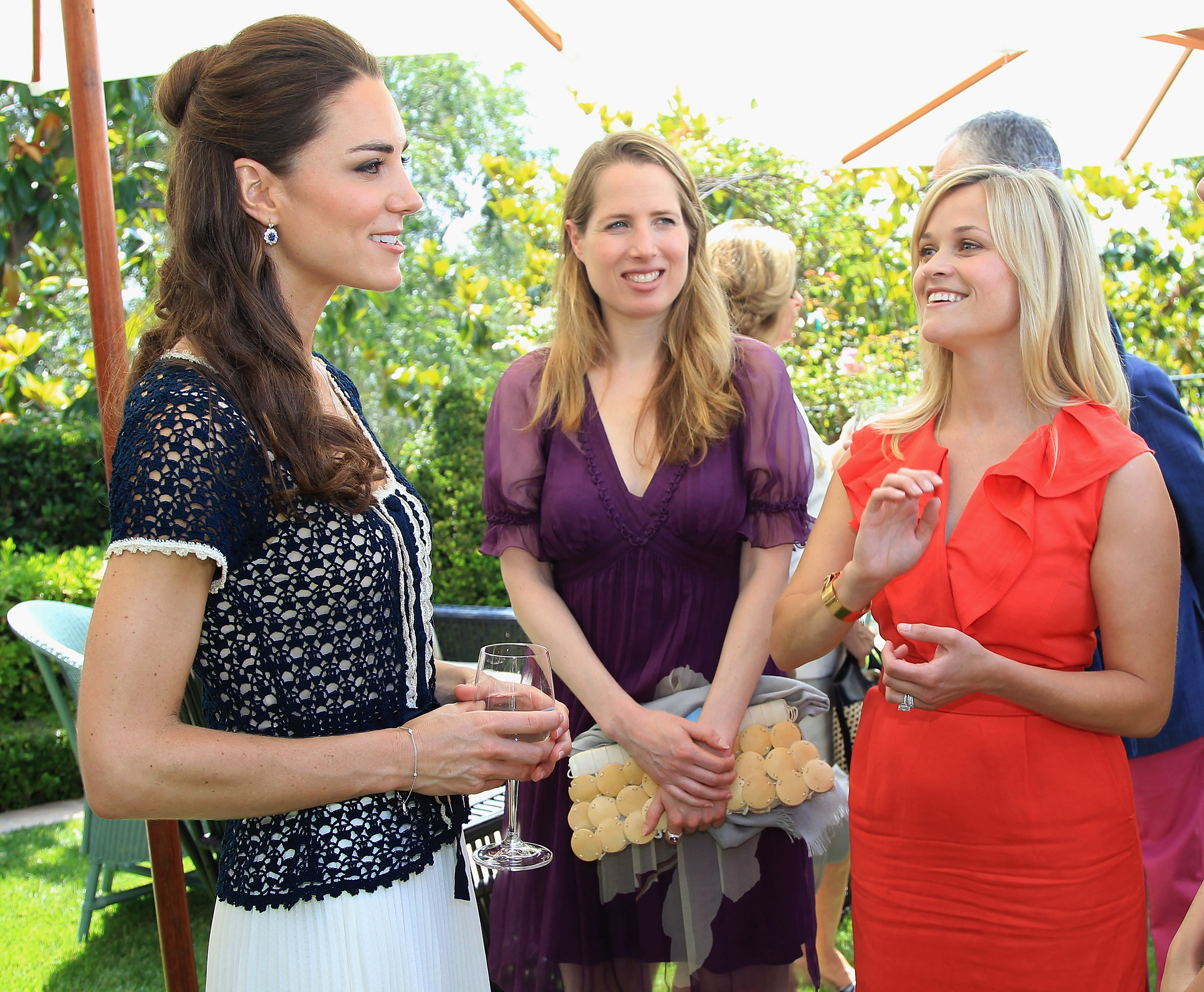 Kate Middleton and Reese Witherspoon (Source: Getty Images)