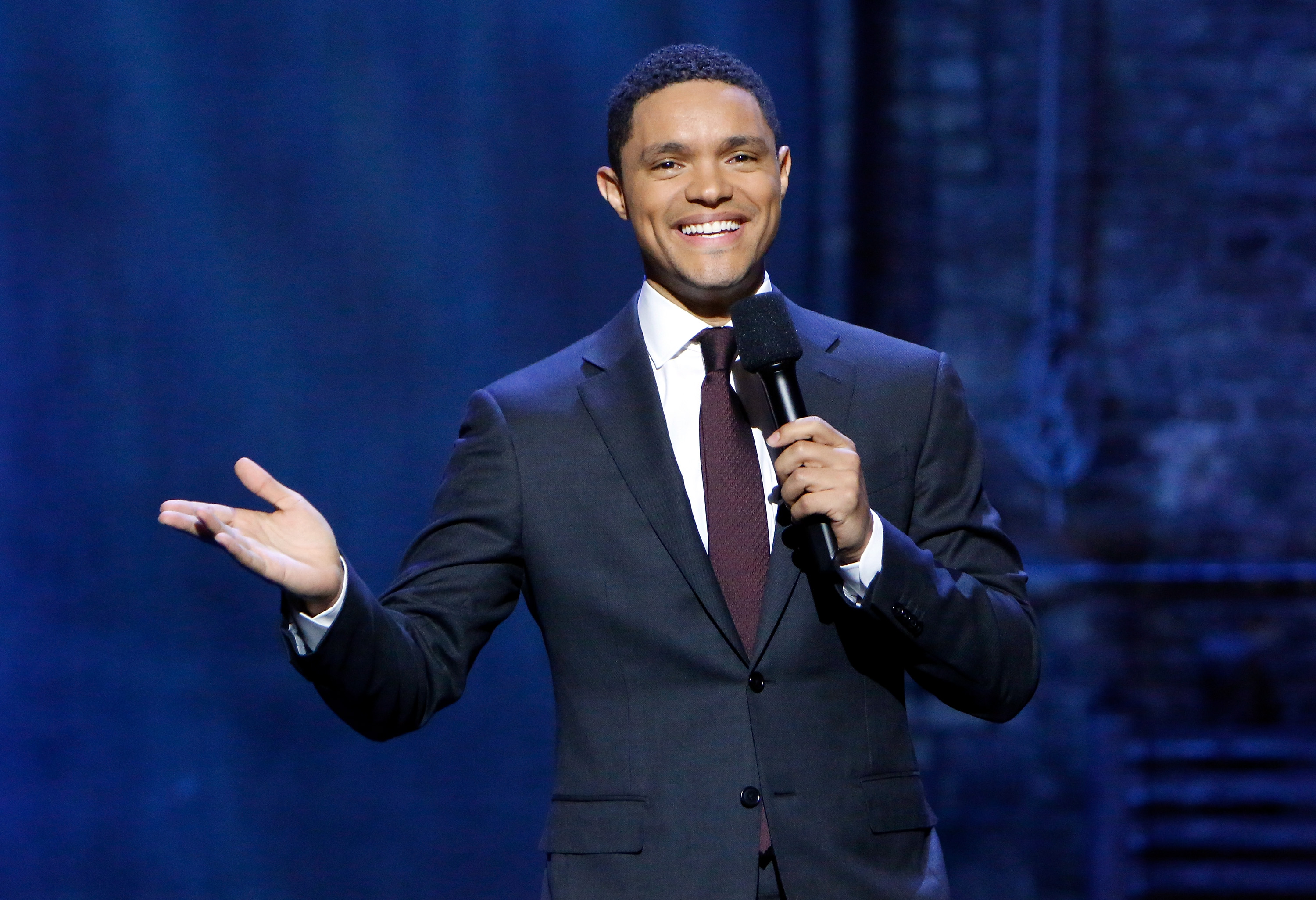 Trevor Noah on The Daily Show Undesked Chicago 2017: Lets Do This Before It Gets Too Damn Cold Comedy Centrals The Daily Show with Trevor Noah taping Monday, October 16 through Thursday, October 19 from Chicago's The Athenaeum Theatre and airing nightly at 11:00 p.m. ET/PT, 10:00 p.m. CT on October 16, 2017 in Chicago, Illinois.