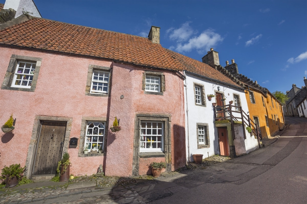 Historic Culross is one of Scotland's most picturesque towns (Visit Scotland)
