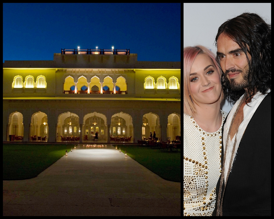Katy Perry and Russel Brand had booked 21 camels and an assortment of elephants and horses for the marriage procession, as revealed by their wedding organizers at the time. (Source: Getty Images)