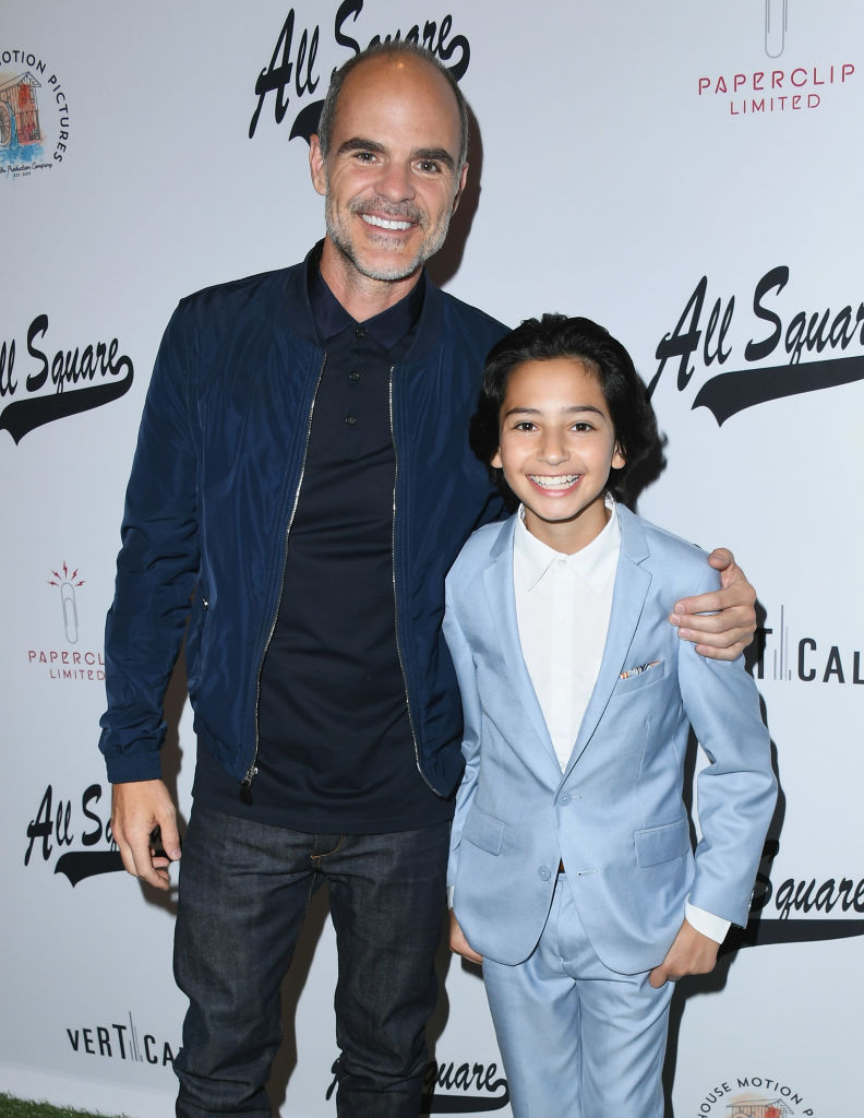 Michael Kelly and Jesse Ray Sheps attend 'All Square' Los Angeles Premiere at iPic Theaters on October 2, 2018 in Los Angeles, California. (Photo by Jon Kopaloff/Getty Images)