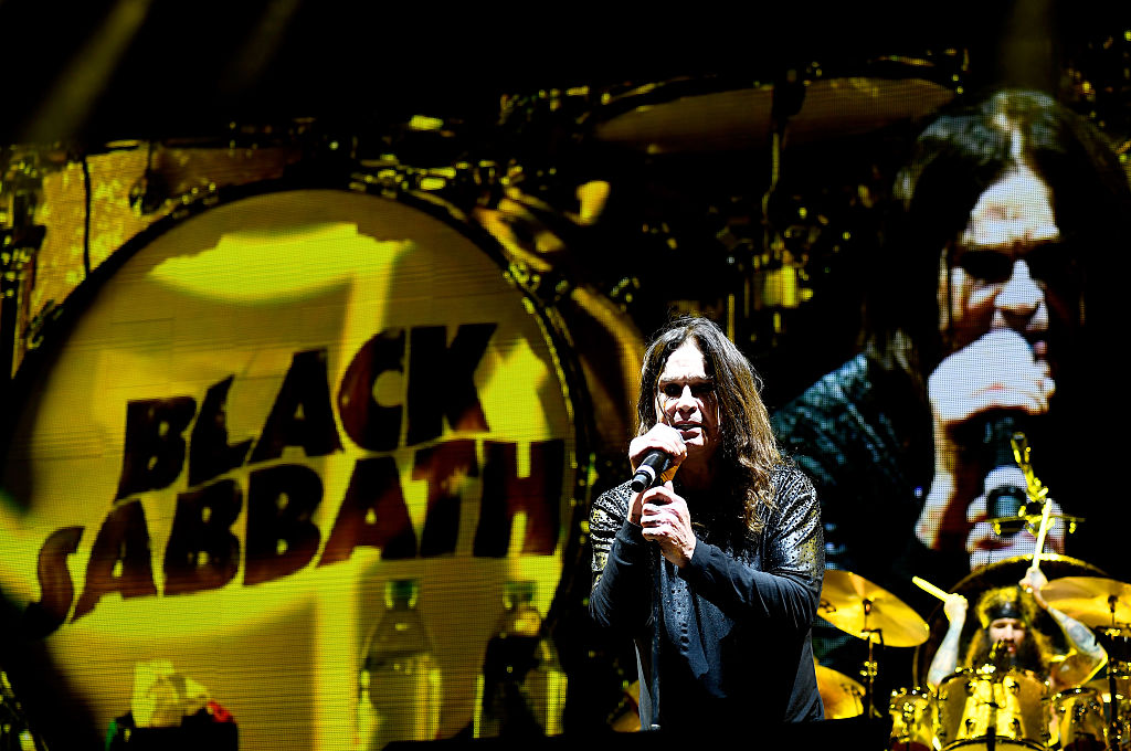 Ozzy Osbourne of Black Sabbath performs at Ozzfest 2016 at San Manuel Amphitheater on September 24, 2016, in Los Angeles, California. (Getty Images)