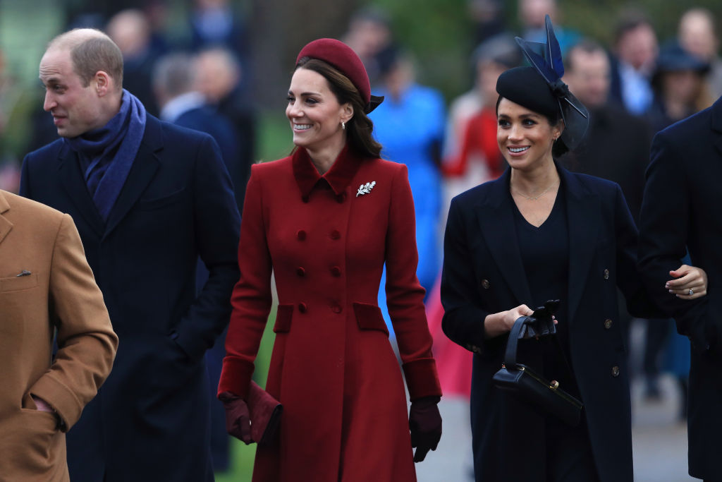 The new documentary on the Duchess of Sussex looks at why no members of the Duchess' family except her mother Doria Ragland were present at her wedding at Windsor Castle in London. (Source: Getty Images)
