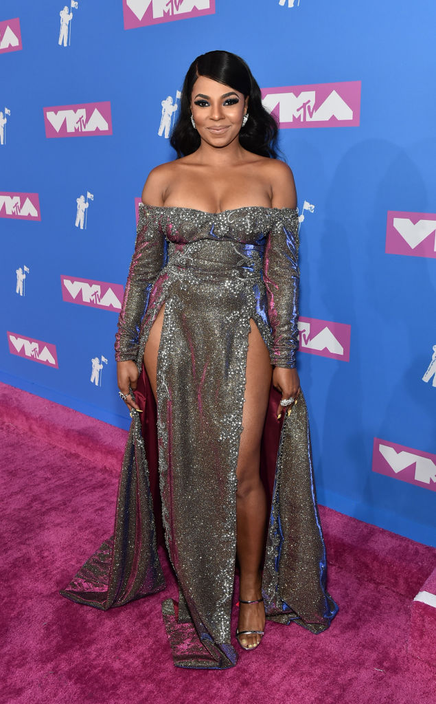 Ashanti attends the 2018 MTV Video Music Awards at Radio City Music Hall on August 20, 2018, in New York City. (Getty Images)