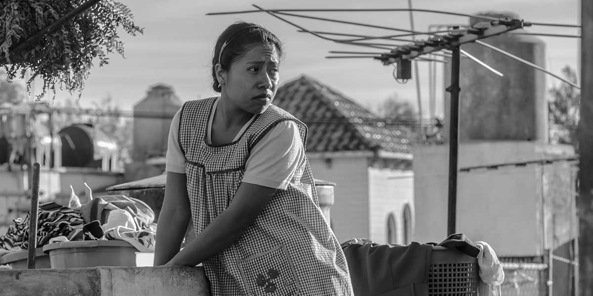 'Roma' takes a look at the intimate life of director Cuarón's childhood nanny. (IMDb)