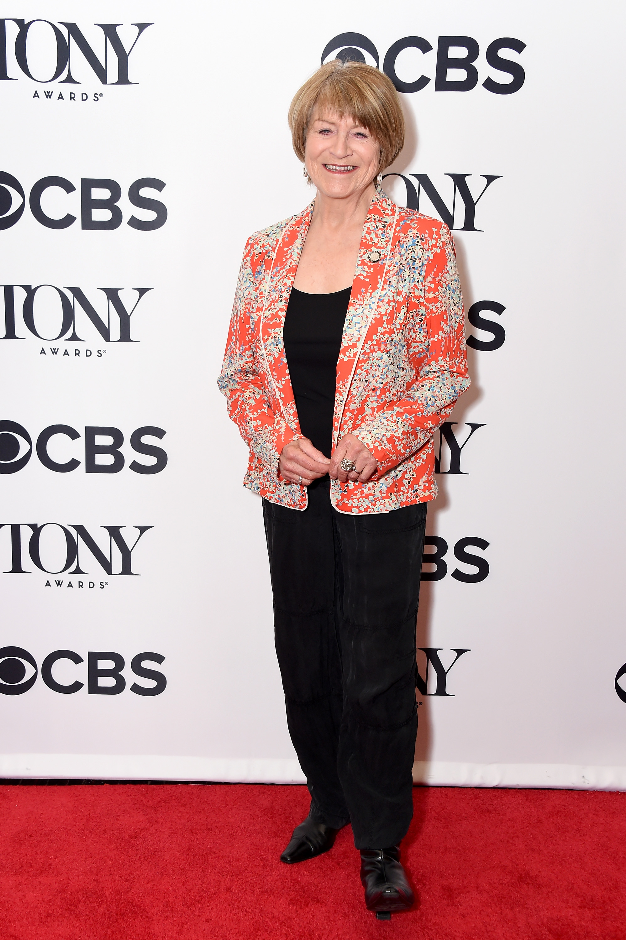 Susan Brown attends the 2018 Tony Awards Meet The Nominees Press Junket on May 2, 2018 in New York City.