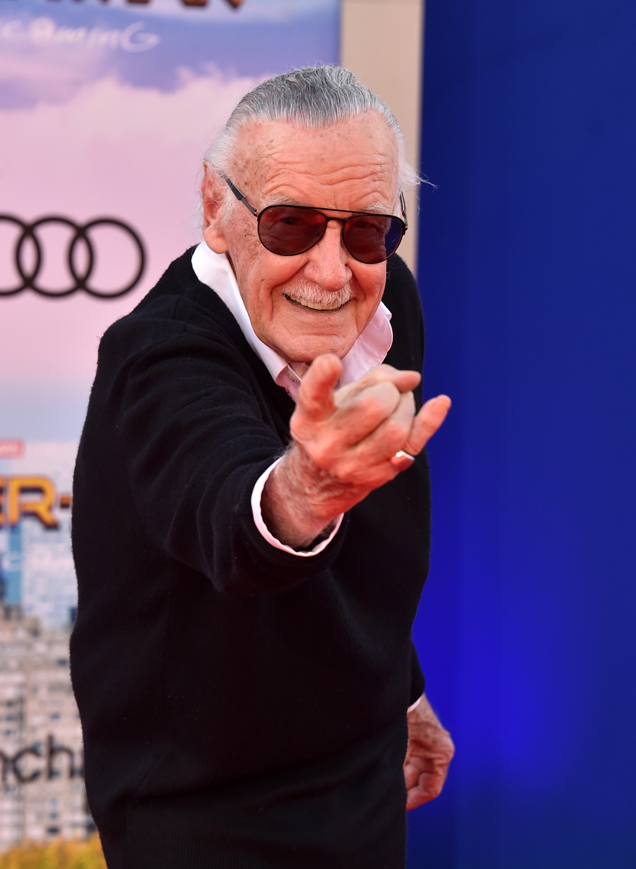 Stan Lee attends the premiere of Columbia Pictures' 'Spider-Man: Homecoming' at TCL Chinese Theatre on June 28, 2017 in Hollywood, California. (Photo by Alberto E. Rodriguez/Getty Images)
