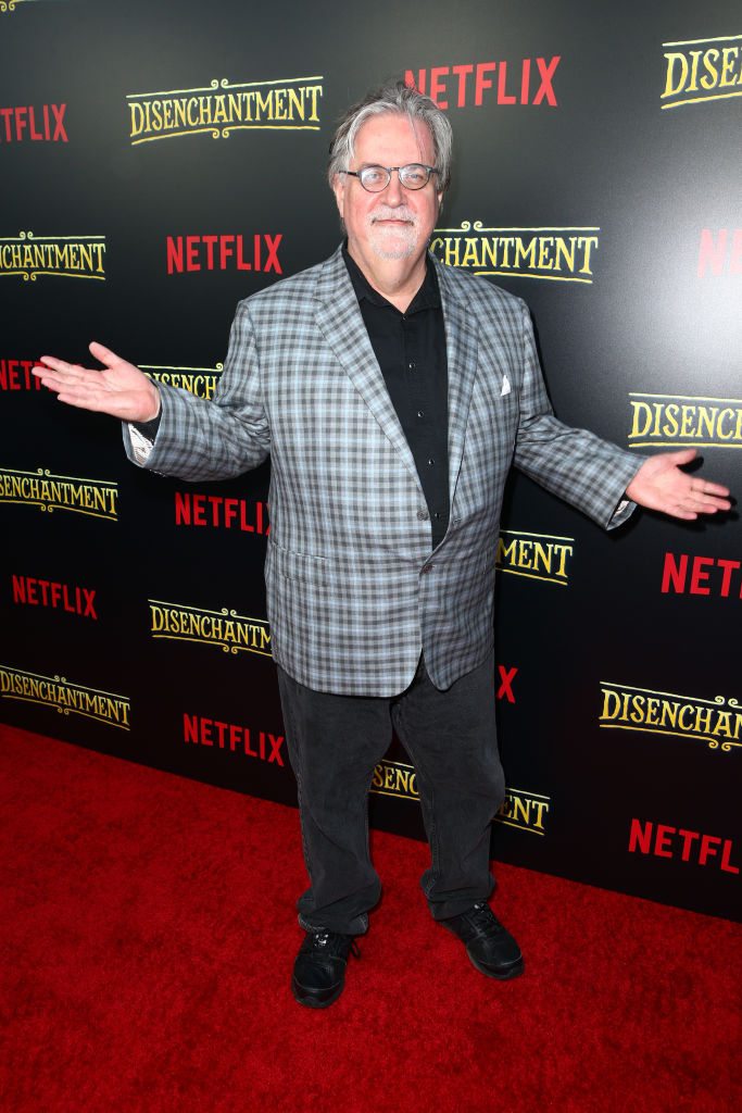 Matt Groening attends the screening of Netflix's 'Disenchantment' at the Vista Theatre on August 14, 2018 in Los Angeles, California. (Photo by Rich Fury/Getty Images)