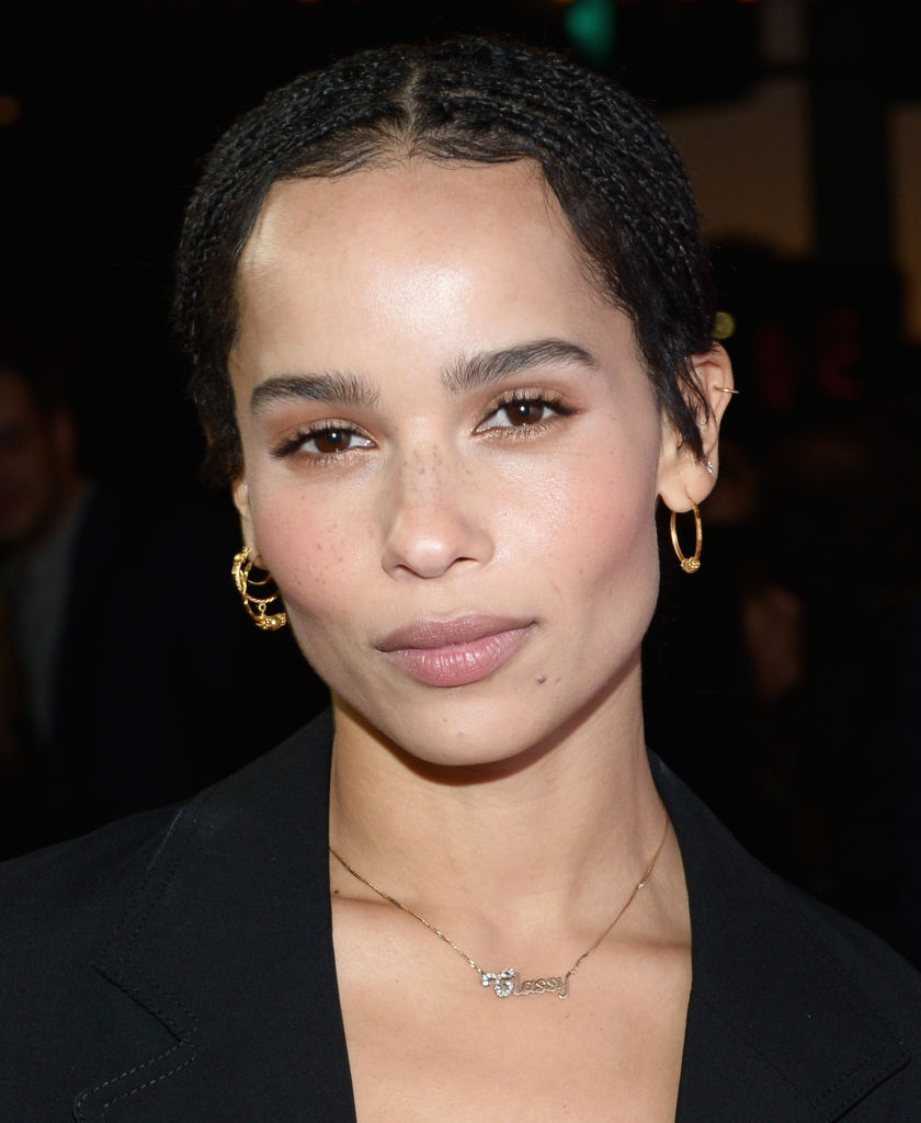 Actress Zoe Kravitz attends the Los Angeles premiere of Neon's 'Gemini' at the Vista Theatre on March 15, 2018 in Los Angeles, California. (Photo by Tara Ziemba/Getty Images)