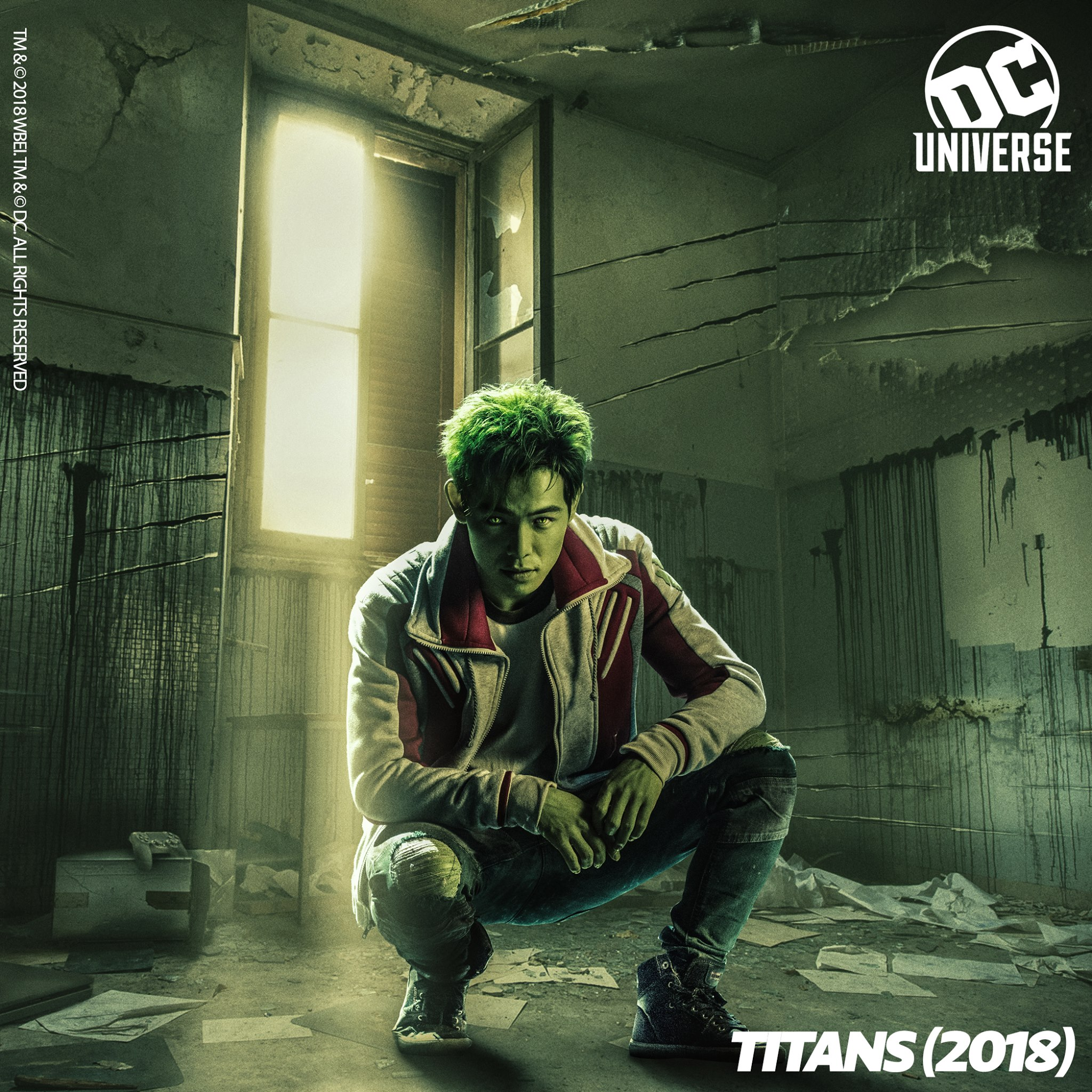 Beast Boy in Dc Universe's Titans (Facebook)
