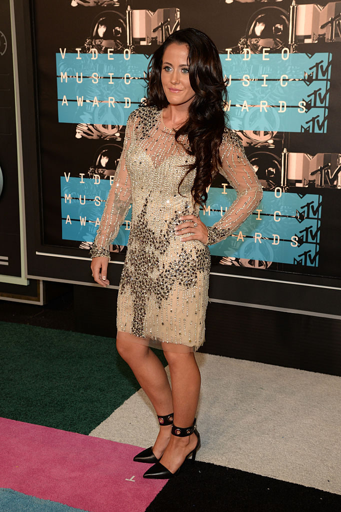 TV personality Jenelle Evans attends the 2015 MTV Video Music Awards at Microsoft Theater on August 30, 2015, in Los Angeles, California. (Photo by Larry Busacca/Getty Images)